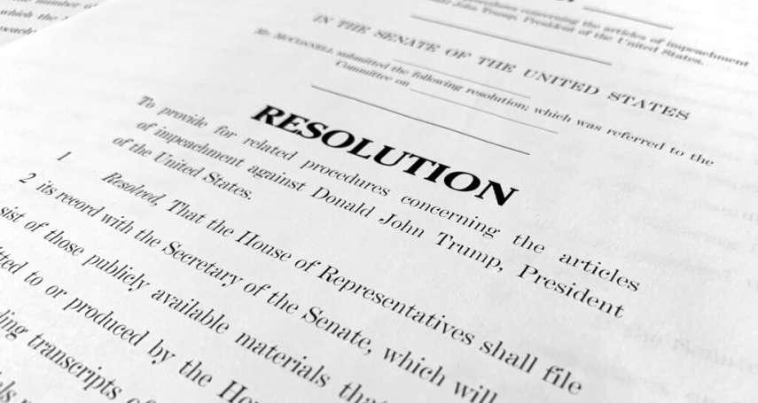 川普解職審判前夕》白宮律師團辯稱:彈劾扭曲美國憲法,參議院應立即宣告總統無罪