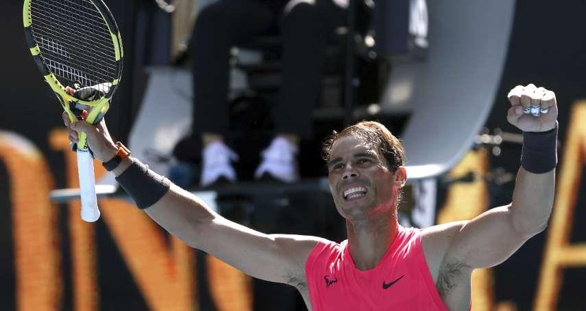網球》納達爾不當偽君子 坦言希望喬科維奇輸掉澳網決賽