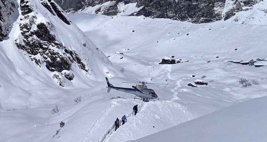 世界第十高峰雪崩!安納布爾納峰惡劣天候阻礙搜救,7人下落不明「狀況不樂觀」