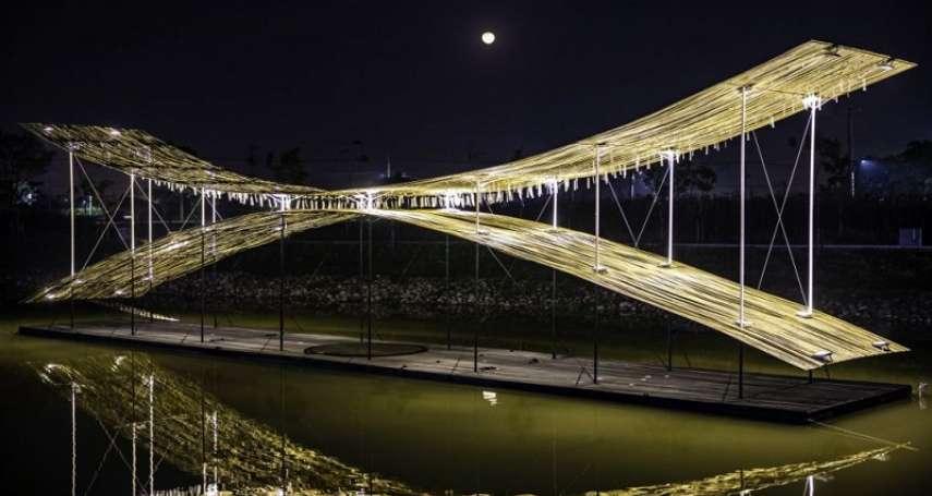 台南月津港燈節陪你過新年!全新海市蜃樓主題結合擴增實境,讓光影變成「看得見的藝術」