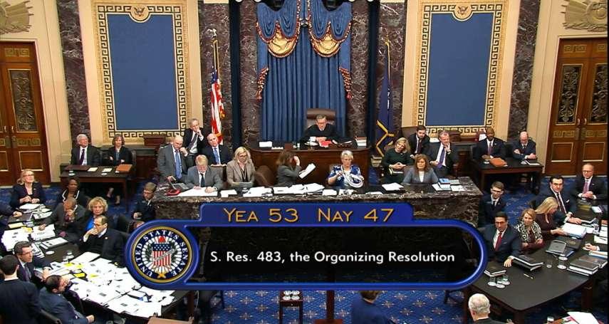 川普解職大審首日》參議院鏖戰13小時!民主黨11項修正案遭全面封殺