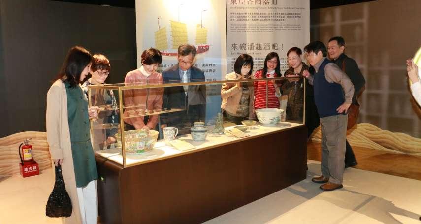 十三行飲酒BAR亞洲酒文化特展 玩古代投壺試準度