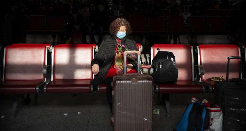 華爾街日報》經濟放緩又遇武漢肺炎疫情,中國旅客紛紛取消春節出遊