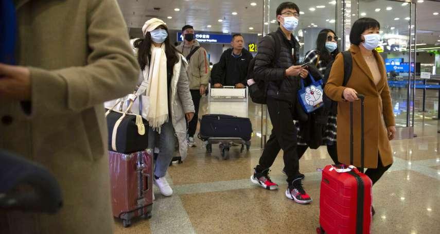 桃園機場防堵武漢肺炎 陳時中:不配合的旅客一律抓起來