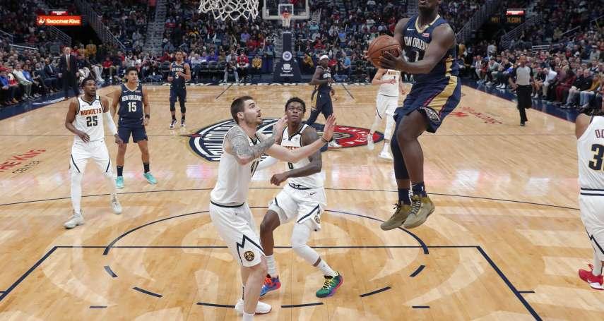 NBA》威廉森初登場就讓球迷震撼 喬丹:能夠有這樣的年輕人加入,對聯盟會是好事