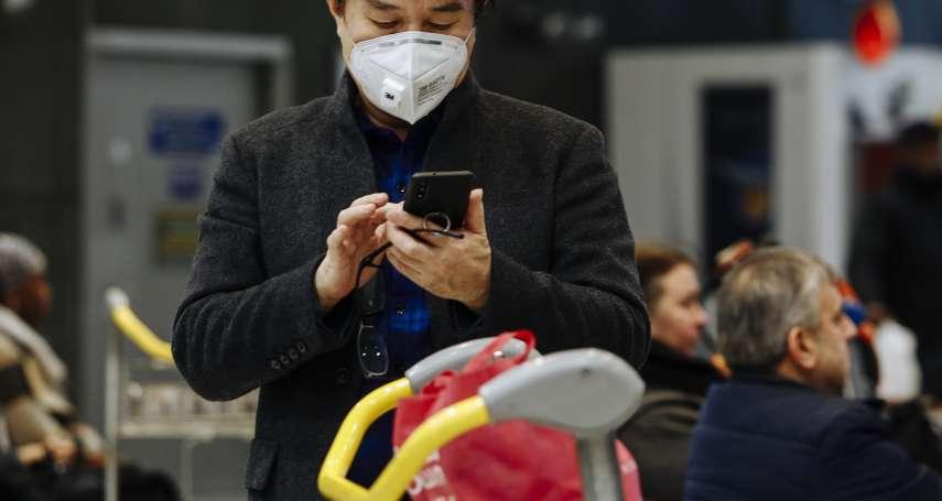 新冠病毒可在物體上存活2個小時 毒物專家:手機螢幕容易附病毒