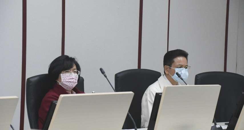 真的好節約!王惠美:1片口罩我用3天,中央應釋出防疫戰備物資