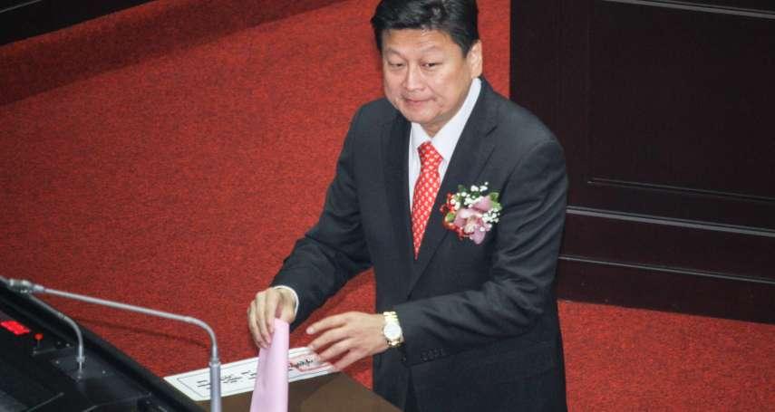 立法院長選舉跑票?傅崐萁自清:我支持國民黨候選人