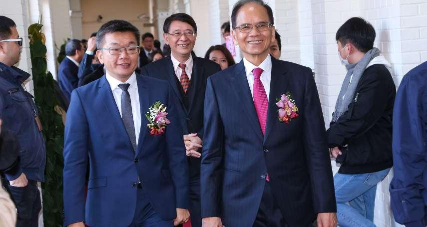 向蘇嘉全請益 游錫堃:努力建構多元理性的新國會