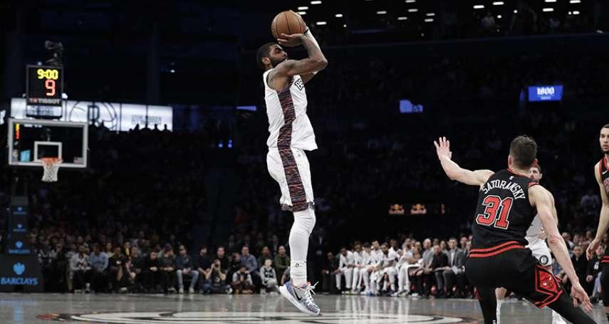 NBA》高檔表現向傳奇致敬 厄文飆 54 分宰公牛