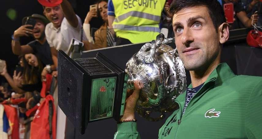 澳網》過去7個大滿貫掃5座冠軍 網壇三巨頭幾乎靠喬帥撐腰