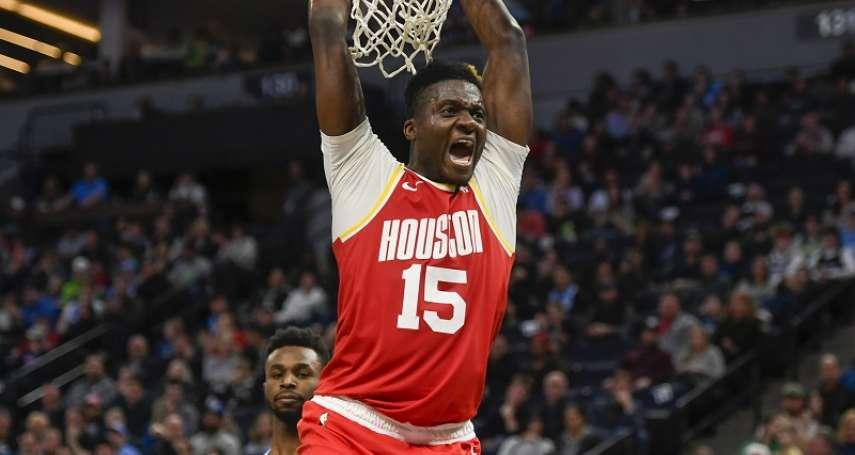 NBA》火箭欲拍賣卡佩拉換來側翼好手 老鷹等東區球隊有望成買家