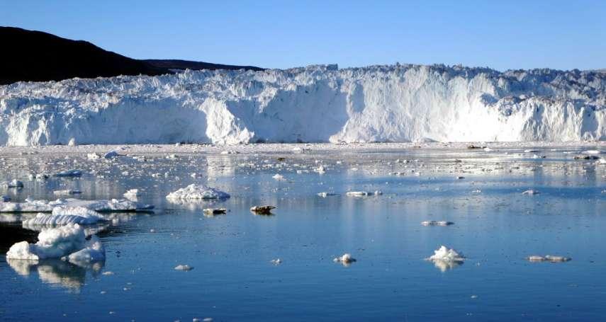 全球暖化‧海水增溫》加速格陵蘭冰川融化 一天消失110億噸冰河
