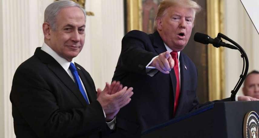 川普力推「中東和平」?以色列總理:根據川普計畫,我們正在繪製兼併約旦河西岸的地圖