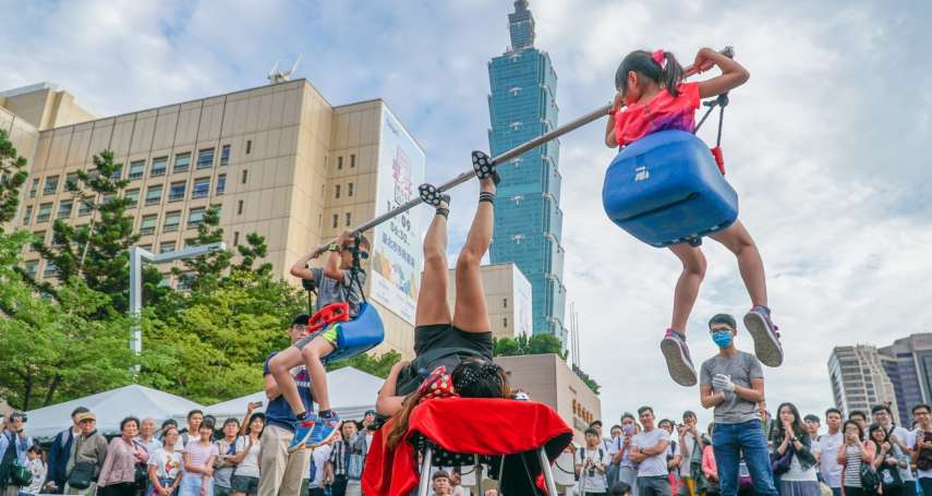台灣燈會街頭藝人現場表演 豐富多元