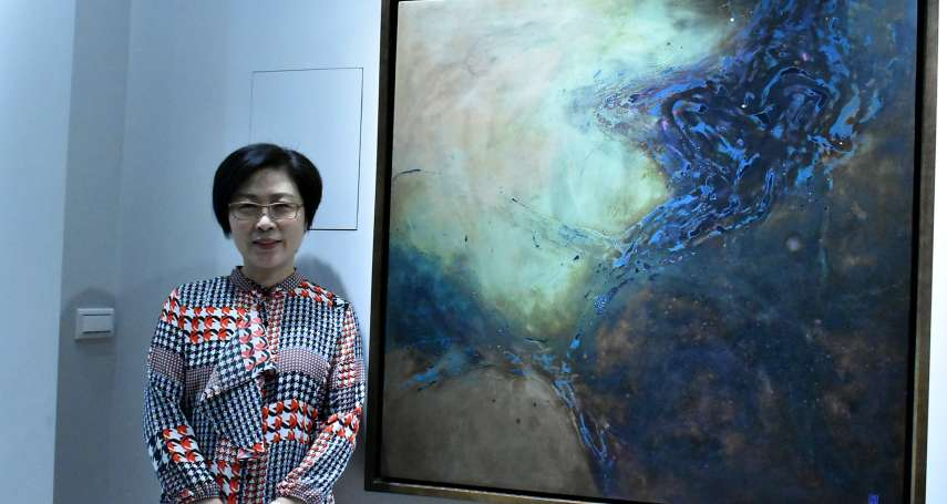 正觀藝術中心喬遷開幕 首推阮春綠漆畫個展