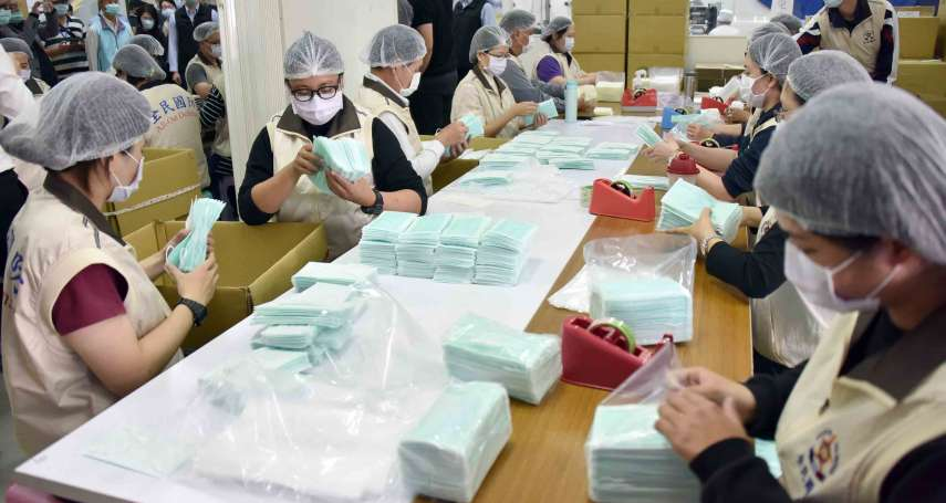 嚴防武漢肺炎 行政院再撥近億元增30條口罩產線