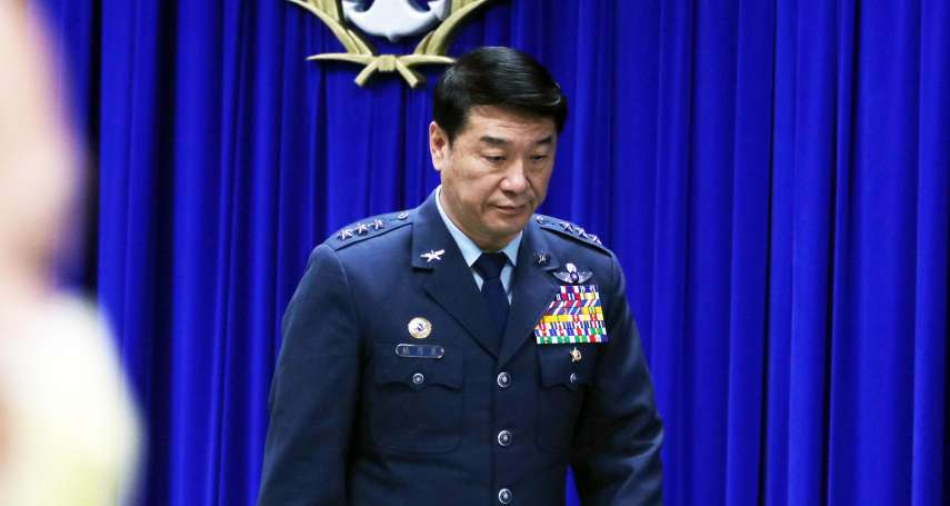 黑鷹失事懲處5人名單出爐!空軍司令熊厚基自請處分,記過1次