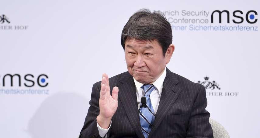 日本外務大臣誇台灣防疫工作傑出 茂木敏充:會好好考慮放寬對台入境管制