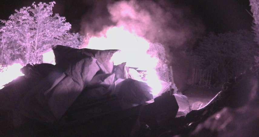 鐵腕打擊空汙 新北環境稽查組破獲業者非法焚燒廢棄物