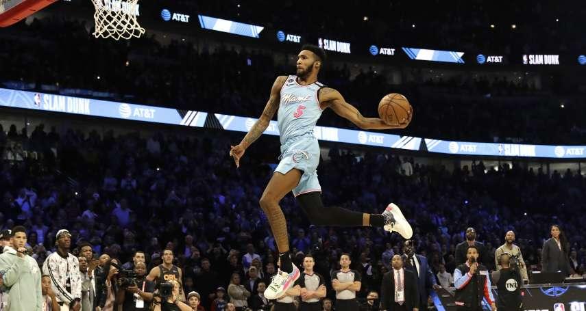 NBA》瓊斯23歲生日超難忘 灌籃大賽奪冠還收運動品牌合約