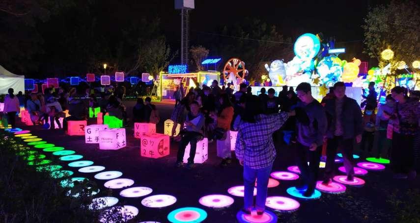 認識台中企業特色 台灣燈會「產業讚聲燈區」產業縮影