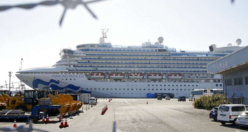 當各國忙著救回「鑽石公主號」乘客,世界衛生組織說話了:郵輪旅行風險可控,不需禁止