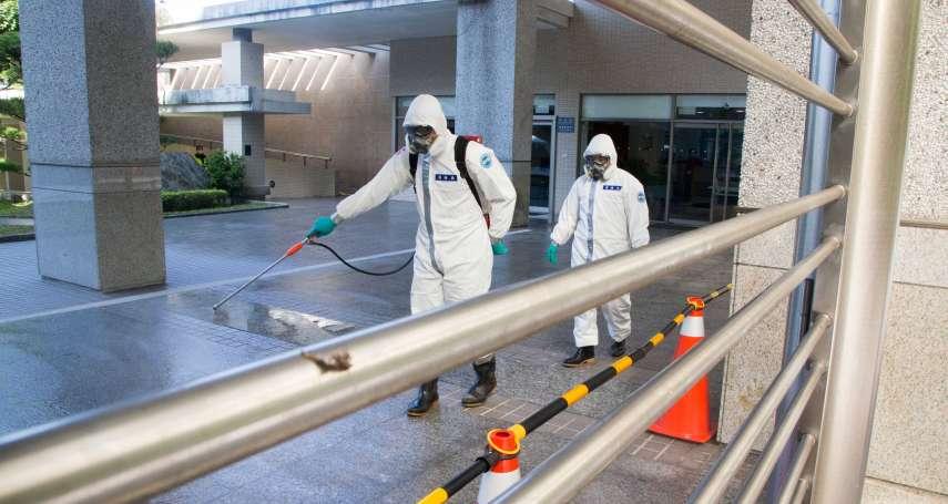 首批滯留武漢台商解除隔離 陸軍33化兵再出動消毒隔離住所