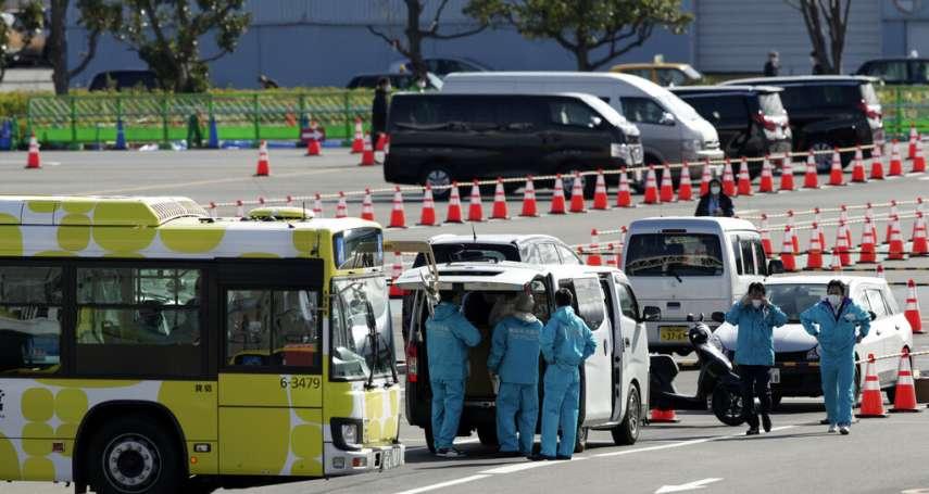 鑽石公主號兩名乘客死亡!NHK快訊:政府官員承認,兩名80多歲確診本國乘客不治