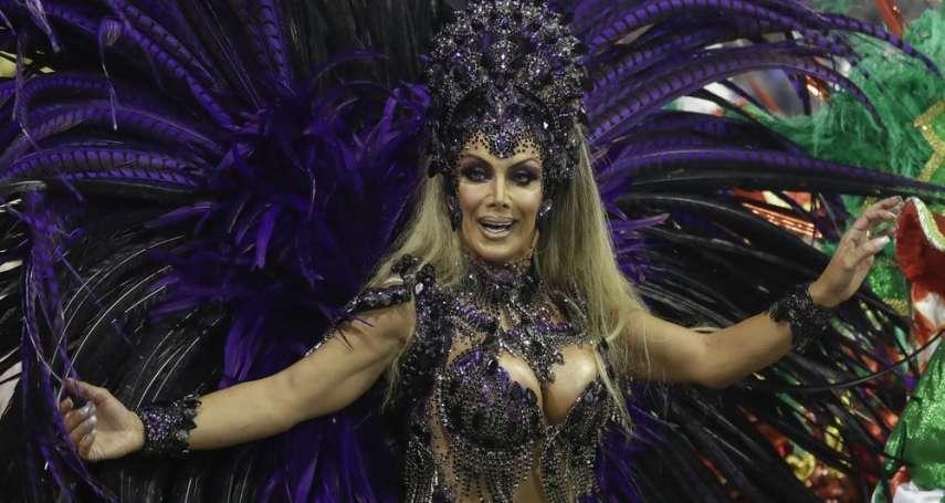 挑戰禁忌!熱情森巴回應歧視偏見 巴西嘉年華首位跨性別領隊舞者勇挑大任