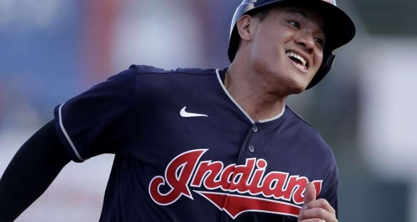 MLB》張育成、吉力吉撈先發3打數3安打 「台灣連線」率印人奪春訓首勝
