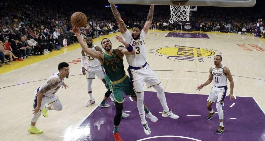 NBA》泰托姆轟41分卻在關鍵時刻熄火 湖人防守策略是關鍵
