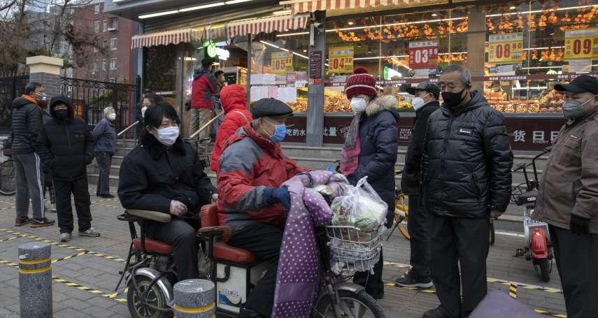 武漢封城最大受害者!外地人撿拾剩菜維生 流落街頭還被警察潑水驅趕