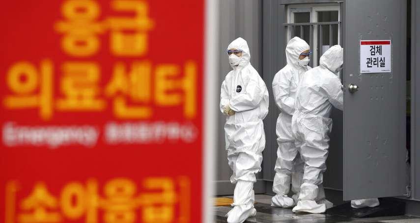 南韓確診飆上1595人、13例不治身亡!美韓3月聯合軍演決定延期