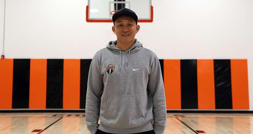 籃球》大學長昔日中華射手楊玉明 跨海為九太科技助陣加油打氣