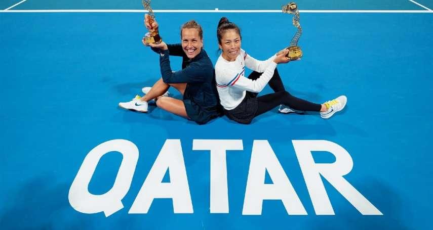 網球》 雙喜臨門!謝淑薇杜哈女網封后 本季第三冠再度重返世界第一