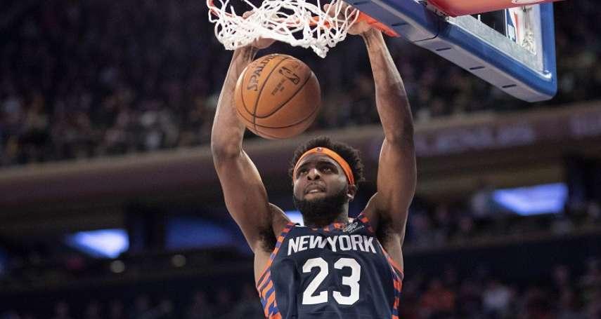 NBA》尼克板凳奇兵本季命中率高達七成 有望超越張伯倫成史上之最