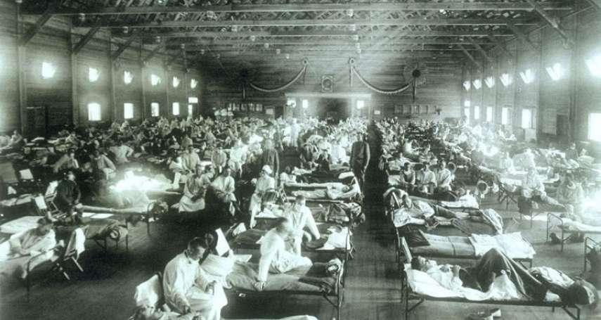 醫院內外擠滿絕望的病人,屍體只能往天花板堆…比武漢肺炎還可怕的人類浩劫—西班牙流感