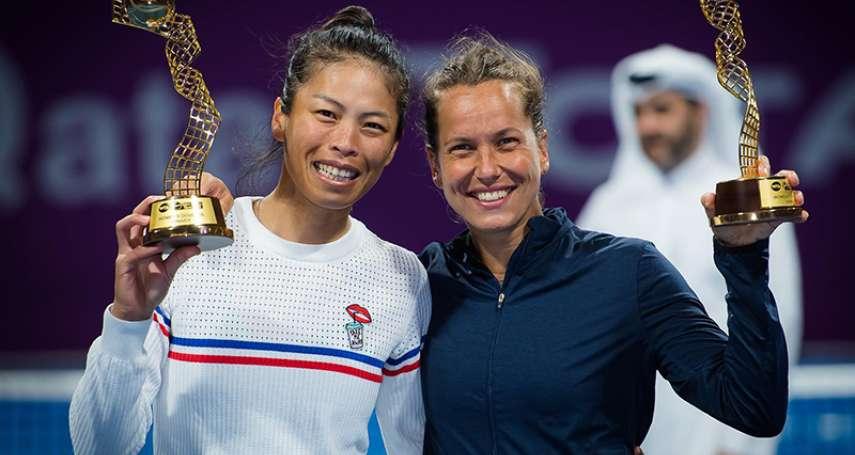 網球》職業網球員補助依世界排名 如獲奧運資格體育署加碼200萬