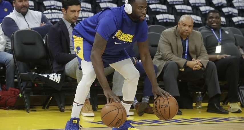 NBA》格林簽約新運動品牌 成為自韋德後最大咖代言人