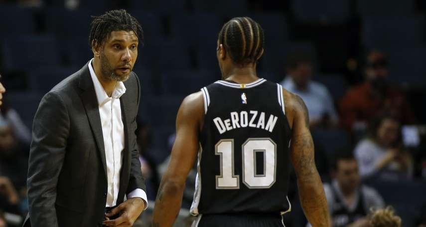 NBA》鄧肯代班執教首勝歸功團隊 「我只負責吼球員」