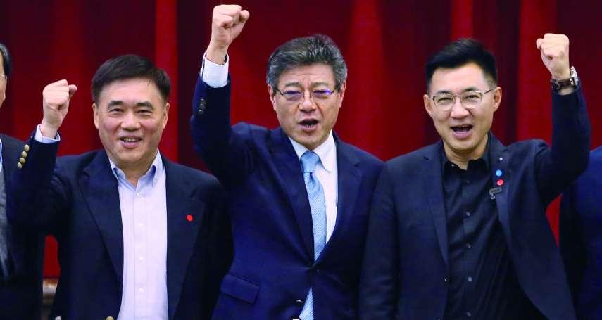 新新聞》主席補選猛噴改革口水,郝龍斌、江啟臣搶票手法沒兩樣