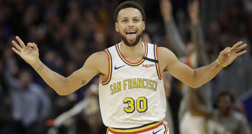 NBA》勇士柯瑞睽違58場復出 「開學第一天」繳23分成績單