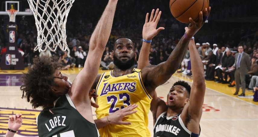 NBA》詹姆斯37分宰公鹿 得分破34000分有望後年超越馬龍