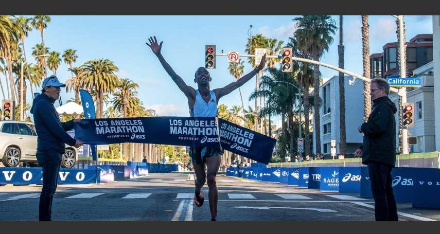 美國疫情升溫,洛杉磯馬拉松8日照跑不誤 網友:洛杉磯真是瘋了
