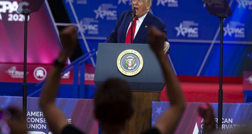 保守派大會有人確診,出席造勢的川普有驗病毒嗎?白宮聲明:總統沒有驗,他超級健康