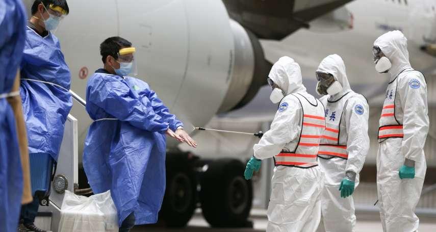 發燒客登英國班機 他酸疾管署:中國小明不可入境、英國英明可以?