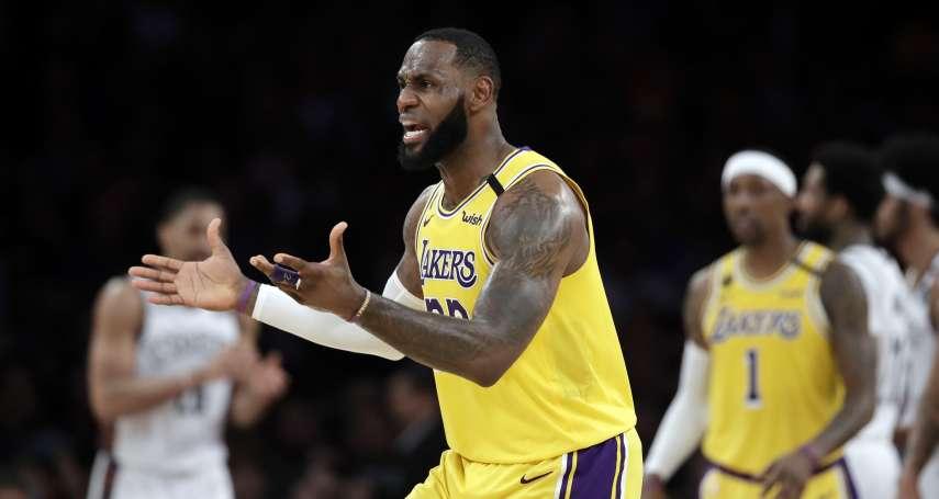 NBA停賽》今年頭三個月多災多難,讓詹姆斯忍不住說:該取消的是2020!
