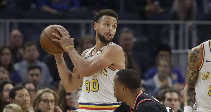 NBA停賽》全面停賽球員虧大 勇士柯瑞每場損失1326萬