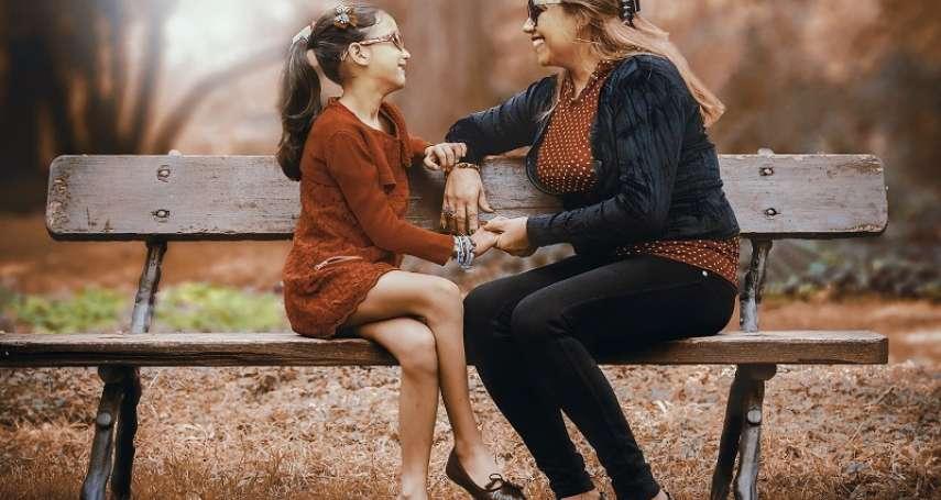 為什麼孩子不願意和爸媽說心裡話?卡內基專家黑幼龍點出問題關鍵,簡單一動作就能提升親子關係!
